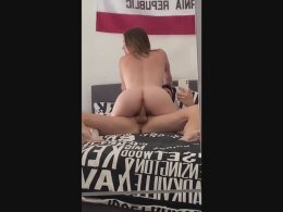 Canadian couple recording her fuck session