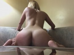 Amazing babe likes to jump on a dick