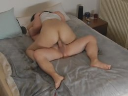 Horny slutty BBW gets dicked and cummed