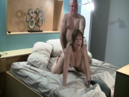 Older dude fucking his ex wife