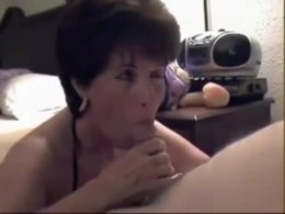 Sucking off younger guy than her age