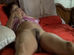 Asian girl and her hairy pussy