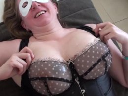 Big masked momma gets a dick rammed in her pussy
