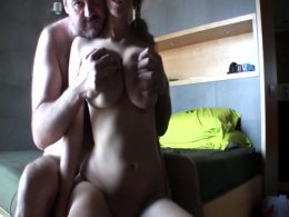 When sex starts with your hands around some large tits and ends with the hot babe riding your cock it has to be good!