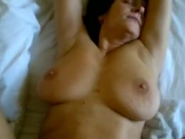 Lustful mature brunette wife make awesome fucking session sunday night,damn!