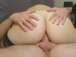 Sexy Big Ass Wife Loves The Anal Fucking At Night