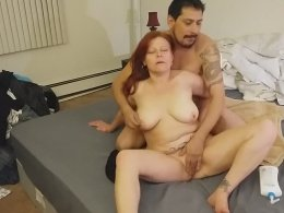 Making A Wild Anal Sex Tape With His Hot Wife