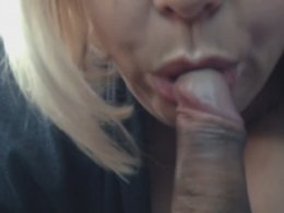 Old Slut Gets Dirty With Her Man And Sucks His Penis