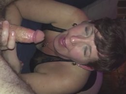 Dirty Talking Wife Enjoys His Throbbing Hard Shaft