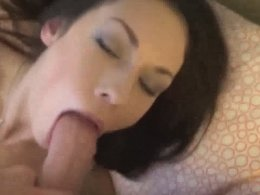 Waking Up My Cute GF For A Blowjob