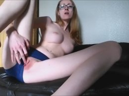 Incredible Twitching Orgasm From A Beautiful Geeky Slut