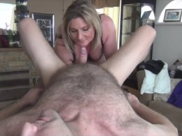 British Milf Gives A Massage And Eats His Cock