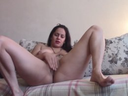Horny Wife Role Plays And Pleasures Her Drenched Pussy