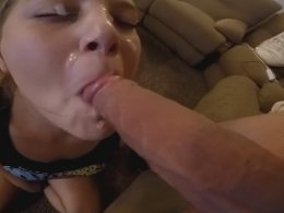 I can't get her off my long cock