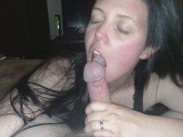 Slow and caring blowjob by my girlfriend :)