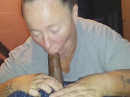 Very old wife wants to see can she remember how to suck