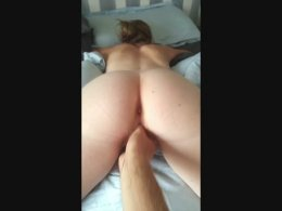 Fingered with her ass spread EroMe